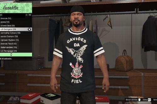 Gaviões da Fiel - Camisa (GTA Torcidas)