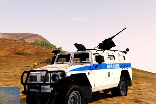 GAZ-2030 Russia Police