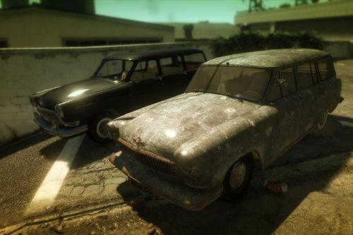 GAZ 22,GAZ 22 Rusty by AKROM Add-ON