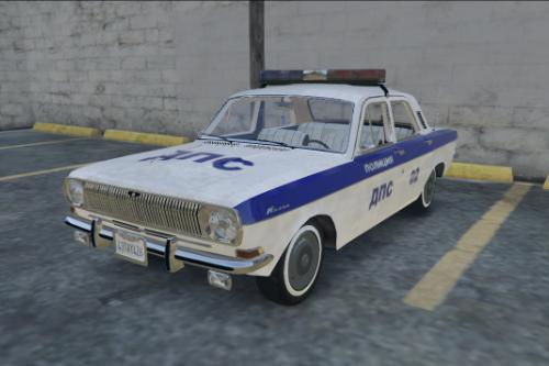 GAZ-24 POLICE