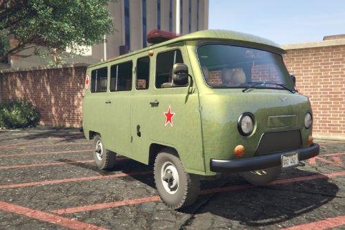 GAZ-452 USSR Military Ambulance