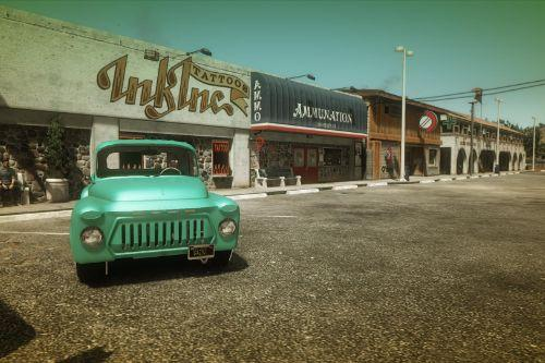GAZ 52 Hot Rod Music Akrom [Add-On]