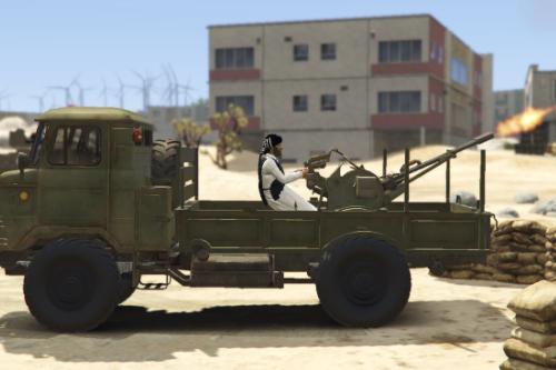 GAZ-66 Light Truck with ZU-23 [Add-on]