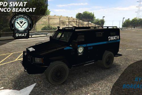 GCPD SWAT Lenco Bearcat