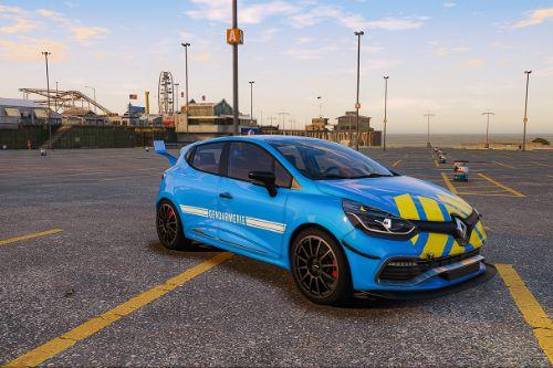 Gendamerie FR livery For Renault Clio IV RS
