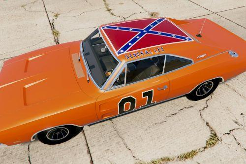 General Lee 1978 TV Livery HD - 1969 Dodge Charger