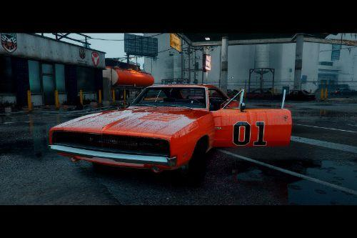 General Lee Livery for 1969 Dodge Charger R/T 426 Hemi