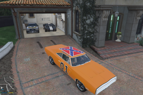 General Lee Texture for 1970 Charger