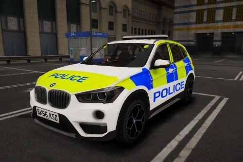 Generic BMW X1 Armed Response Vehicle | British | ELS
