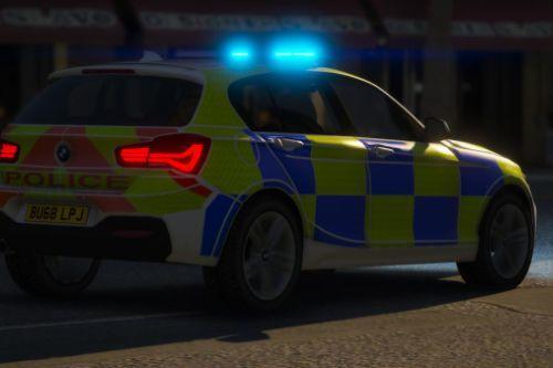 Generic British Police 2018 BMW 1 Series RPU [ELS|REPLACE]