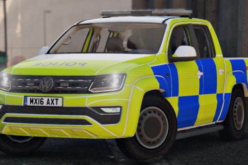 Generic British Police Volkswagen Amarok [Reskin]