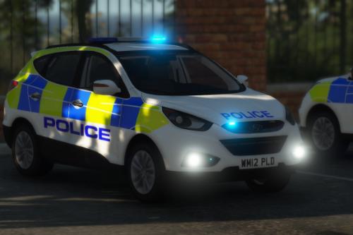 Generic Police Hyundai IX35 [ELS]