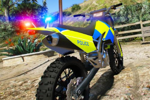 Generic UK Police Dirt Bike