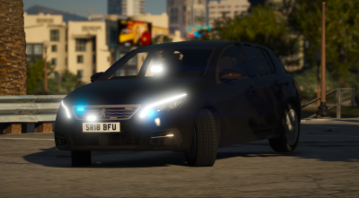 Generic | Unmarked | 2018 Peugeot 308 | ELS