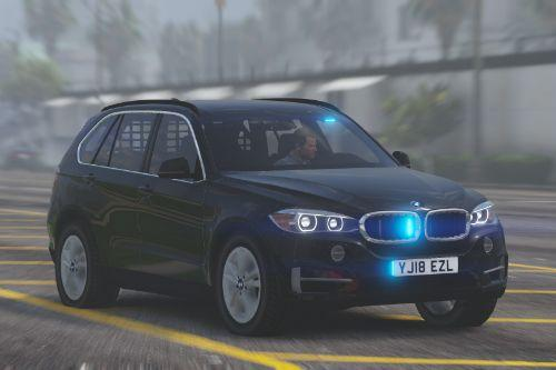 Generic Unmarked BMW X5 - Armed Response Vehicle