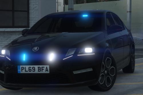Generic Unmarked Police Skoda Octavia VRS Saloon [ELS]