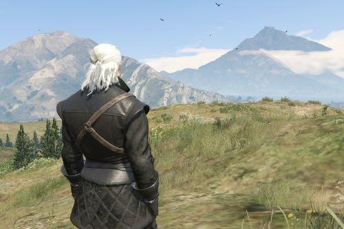 Geralt of Rivia New Moon Gear [Add-On Ped]