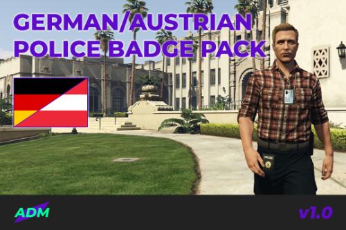 German/Austrian Police Badge Pack [EUP]