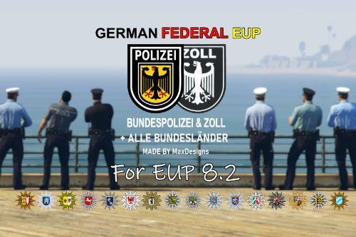 [EUP 8.2+] German Federal EUP [4K] | Alle deutschen Polizeiuniformen, Bundespolizei und Zoll
