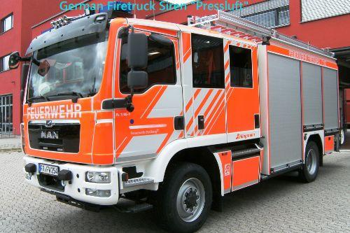 German Firetruck Siren