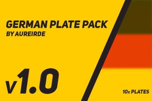 German Plate Pack