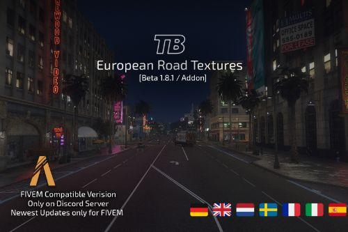 European Road Textures