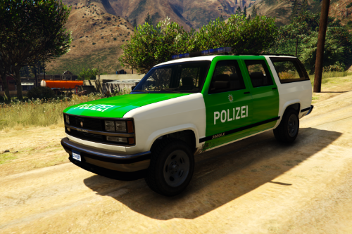 German Textures for Granger Retro Polizei Sachsen