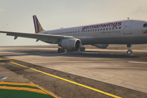 GermanWings And Air France A320-200 Livery
