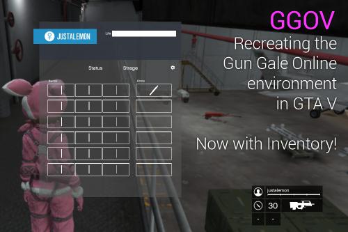 GGOV: Gun Gale Online on GTA V