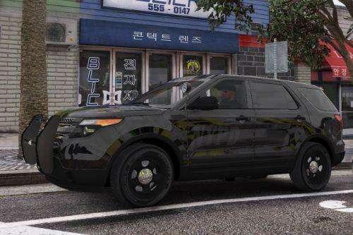 Ghost Ford Explorer [NYPD + Police Generic]