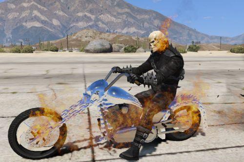 Ghost Rider (Modern Comics Version) Retexture