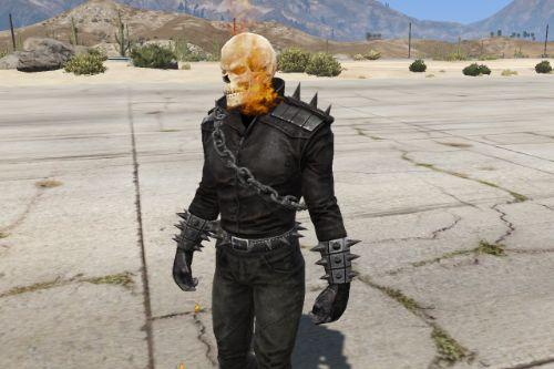 Ghost Rider (Modern Comics Version) Retexture