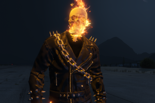 Ghost Rider Nicolas Cage [Add-On Ped]