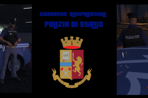 Giubbotti Antiproiettile Polizia di Stato - Carabinieri - Guardia di Finanza [PACCHETTO EUP]