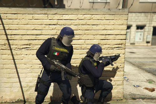 "Giubbotto Antiproiettile ""M"" G.I.S Carabinieri 2/3 [Reskin] [EUP] [FIVEM["