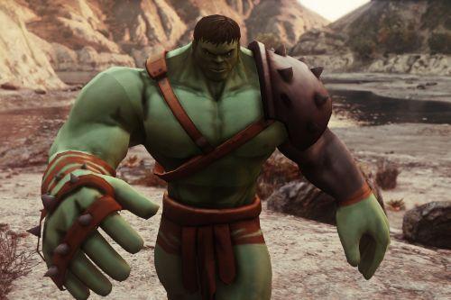 Gladiator Hulk (Planet Hulk) [Add-On Ped]