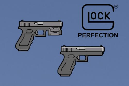 Glock 17 (with flashlight) Weapon Icon