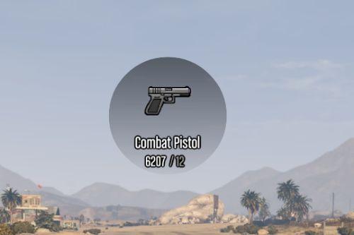 Glock Weapon Icon | Combat Pistol | Rockstar-Style