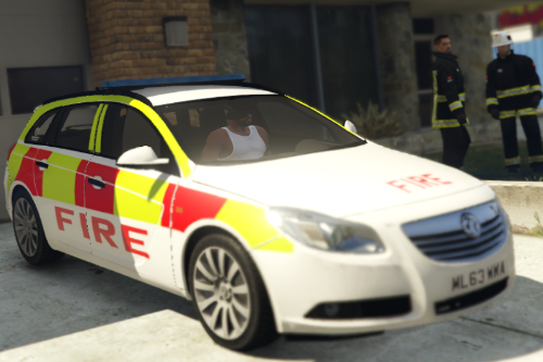 GMFRS / Generic Vauxhall Insignia Fire Officers Car