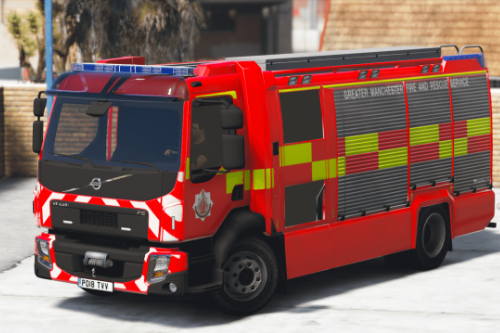 GMFRS Rosenbauer AT Tech Rescue [ELS]