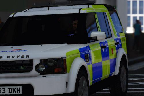 GMP - Greater Manchester Police Land Rover Discovery 4 ARV