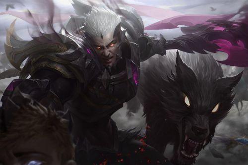 Godking Darius League of Legends Loading screen