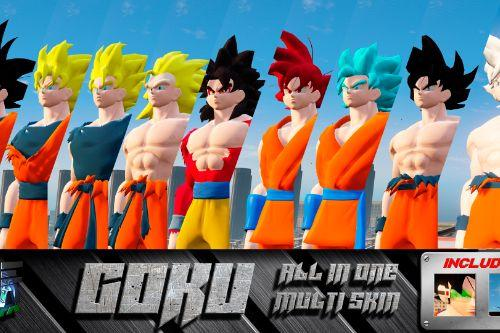 GOKU from Dragon Ball saga All in 1 [Add-On/Replace]