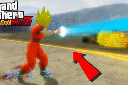 Goku Kamehameha voice Sound fx