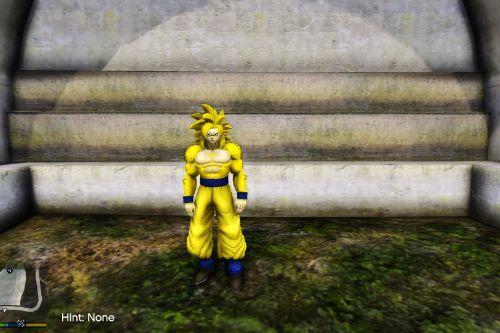 Goku - Surpassed Gods / Golden Goku (Dragon Ball) [Add-On / Replace]