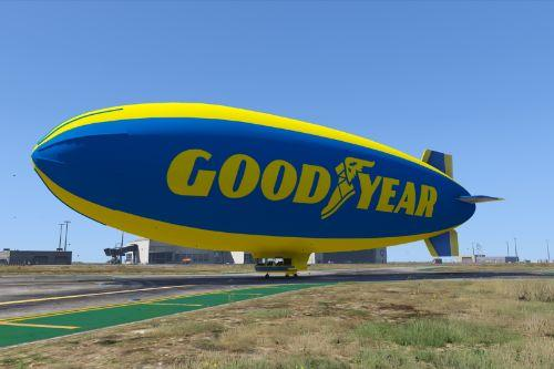 Goodyear Blimp Texture
