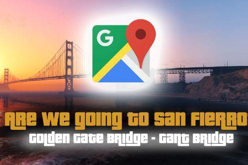 Google Maps San Francisco Golden Gate Bridge
