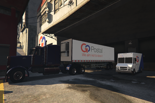 GoPostal and PostOP Trailers