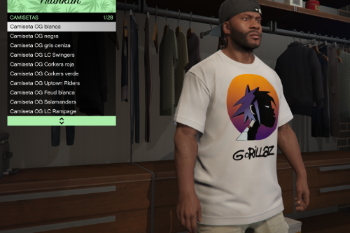 Gorillaz 2-D T-shirt