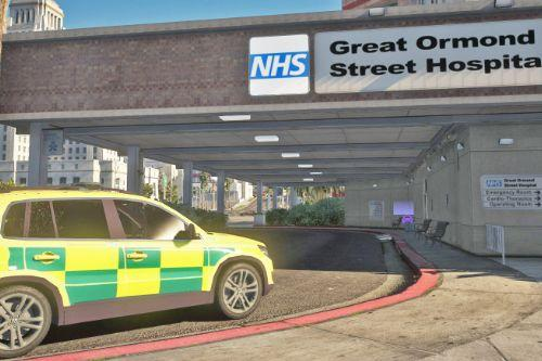 Great Ormond Street Hospital [texture]